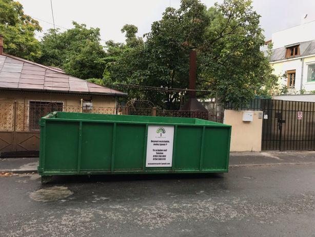 Deseuri reciclabile / nereciclabile, container, bena gunoi, moloz