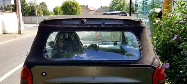 Folie inlocuire luneta Smart Fortwo cabrio model pana in 2007