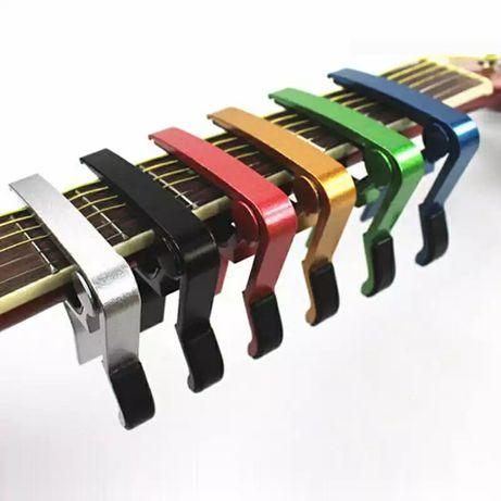 Металические каподастры Capo / зажим для гитары, на струны