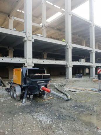 INCHIRIEM - pompa de beton stationara BSA 1005, an 2019