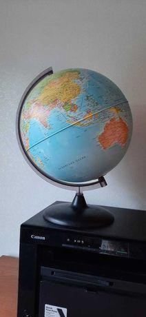 Глобус большой состояние идеальное .