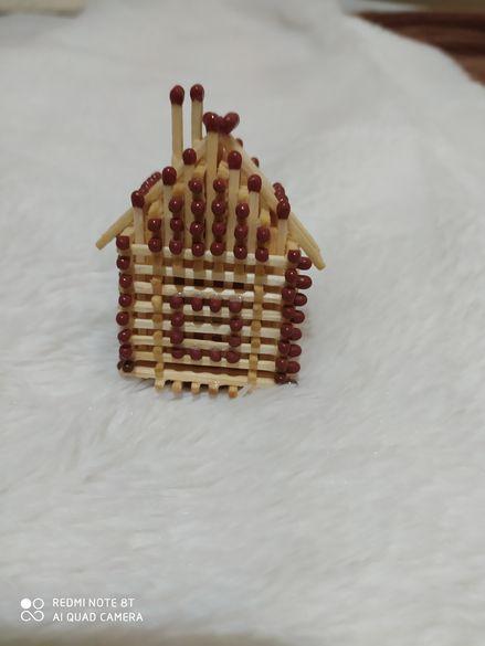 Ръчно изработена къщичка