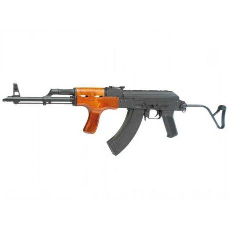 Pusca airsoft AK 47 Kalashnikov LEMN cu METAL AIMS A.E.G. cu BLOW-Back