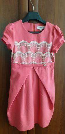 Платье нарядное для девочки на рост 140-146 см