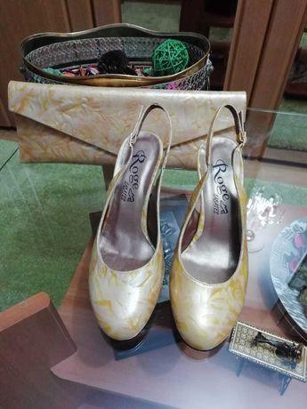 Vand set pantofi si plic noi pentru evenimente