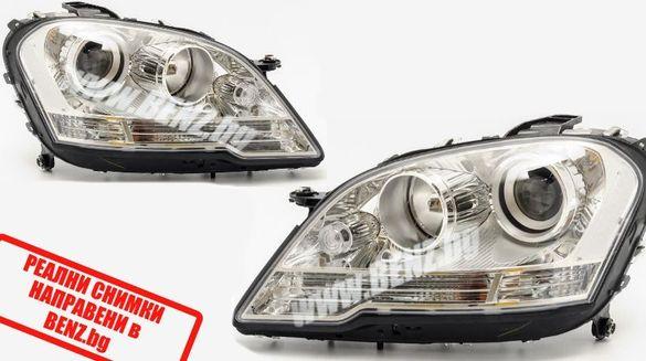 Фарове за Мерцедес МЛ W164 Facelift H7 farove ML В164 фейслифт х7