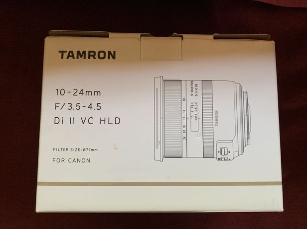 Tamron 10-24mm F/3.5-4.5 Canon.