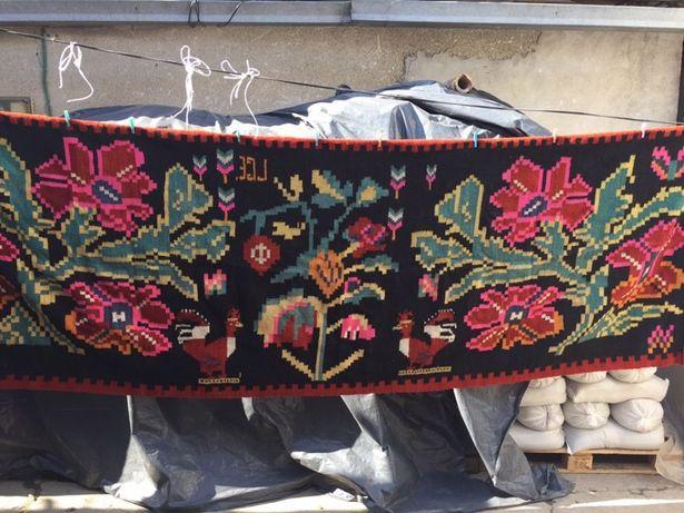 Covor lâna moldovenesc vechi 120 ani!!