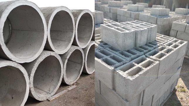 Tuburi din beton pentru fantani, fose si boltari