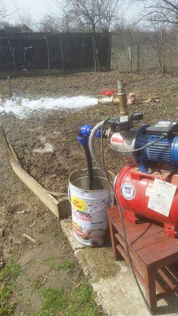 Reparații hidrofoare pompe apă