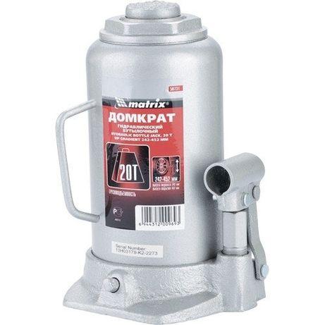 Аренда домкрат гидравлический бутылочный, 20 т, h подъема 242–452 мм