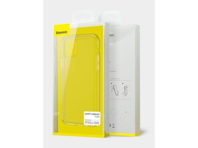 BASEUS прозрачен силиконов кейс калъф iPhone 11, 11 Pro, 11Pro Max