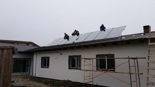 Incalzire cu panouri solare - solutii pt integrarea in sistemul clasic