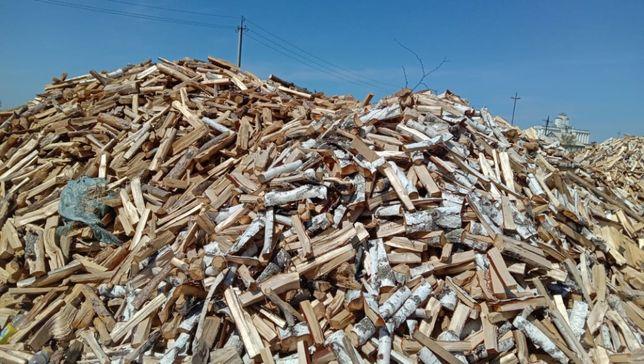 дрова колотые сосна береза