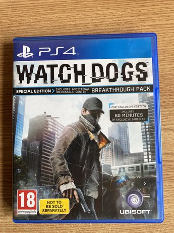 Watch dogs-playstation 4