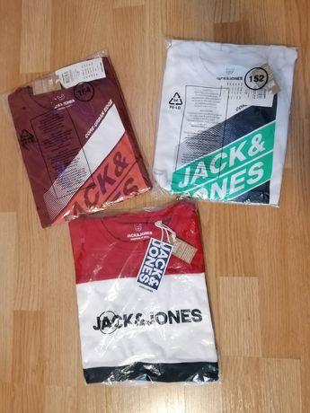 Tricouri Jack&Jones diferite mărimi, noi