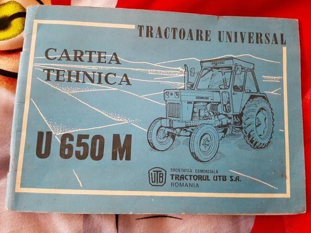 Carte Tehnica U650 dupa 1990