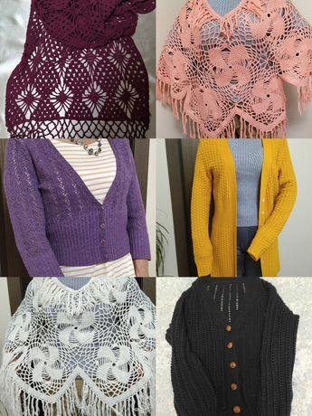 Продажа женской одежды ручной работы ( вязка ).