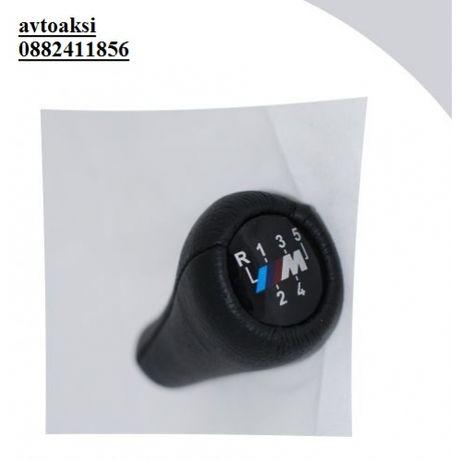 Топка за скоростен лост за БМВ /// М-power с пет скоости
