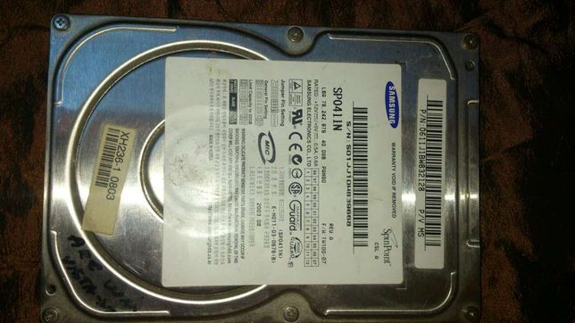 Hdd pc ide 40 gb