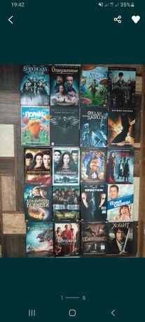 Срочно продам диски с фильмами и мультфильмами