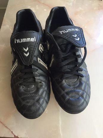 Ghete de fotbal piele Hummel