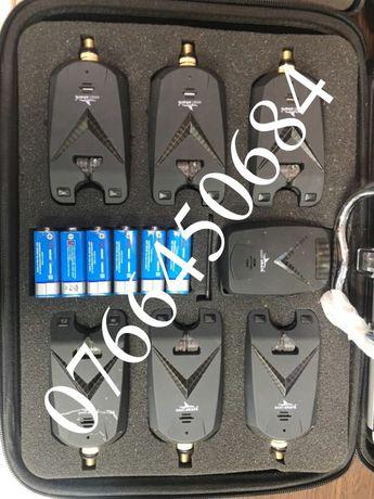 Trusa 6 Senzori Avertizori Eastshark V Power Editie Limitata cu statie