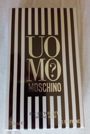 Moschino Uomo (москино умо) парфюм мужской