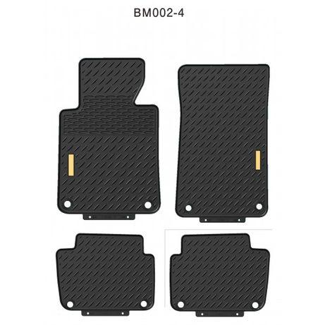 4 бр. гумени стелки за BMW E60 E61 БМВ Е60 Е61 5-та серия