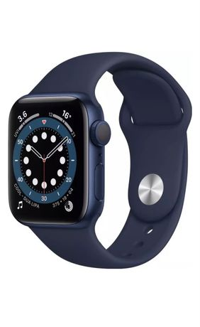 Смарт-часы Apple Watch Series 6 40mm Blue Aluminium Case with Sport Ba