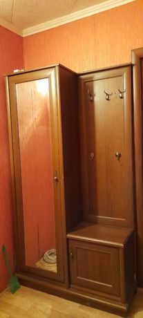 Прихожий шкаф с зеркалью