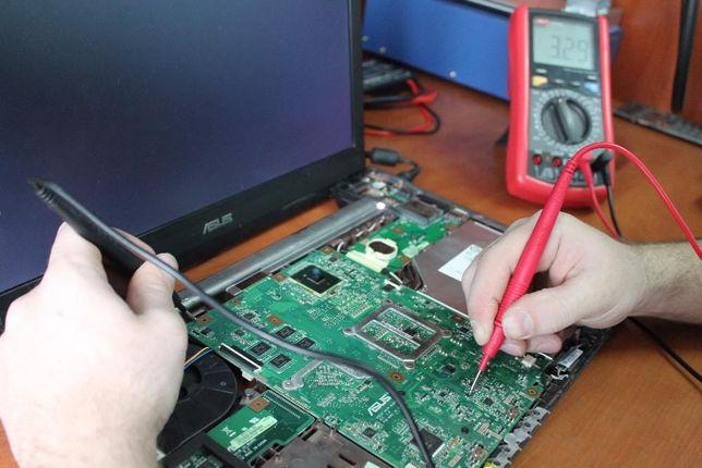 Ремонт ноутбуков, замена разбитых экранов