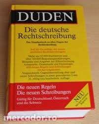 Serie DUDEN Germania-gramatica, vocabular scriere corecta,expresii etc