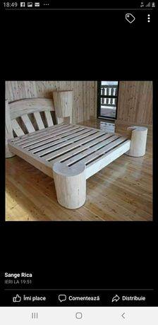 Paturi si canapele rustice