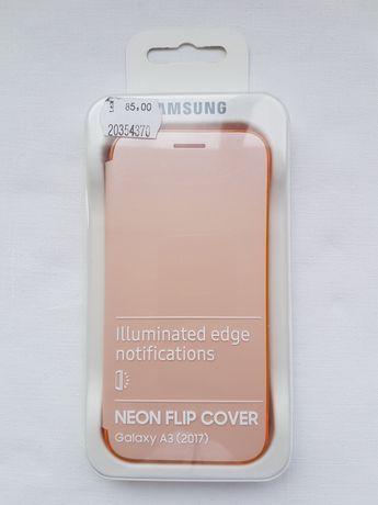 Husa Samsung Galaxy A3 2017 Neon Flip Cover