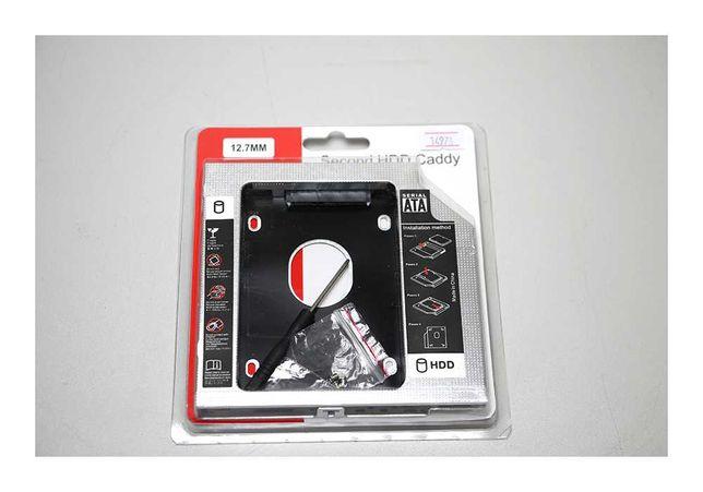 HDD case  DVD 12.7 mm SATA Caddy OptibayАлматы