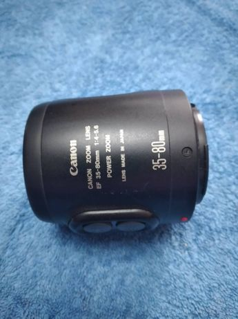 Obiectiv foto vechi Canon EF 35- 80 Power Zoom Japan