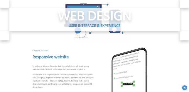 Creare site / Magazin online/ Promovare online/ Grafica auto /Logo