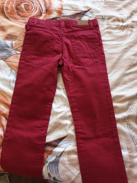 Pantaloni jeans grena