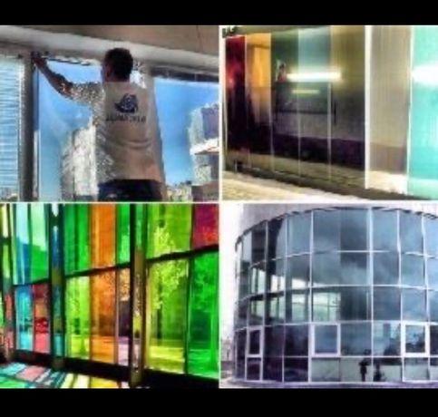 Тонирование стекол