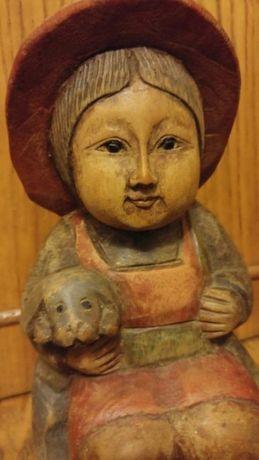 Sculptura lemn masiv China