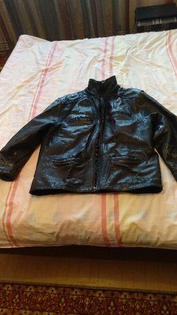 Мъжки якета-естествена кожа XL и велурeно М