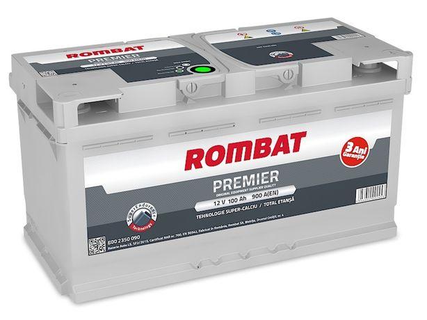 Baterie Auto Rombat Premier 12V 100AH, 900A 3 ani garantie