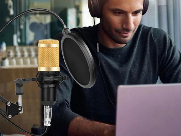 USB Микрофон для ютуба, YOUTUBE подкастов bm 800