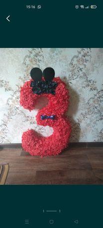 Цифра 3 На день рождения