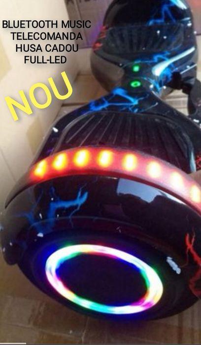 Hoverboard Nou Black storm Sfantu Gheorghe - imagine 1