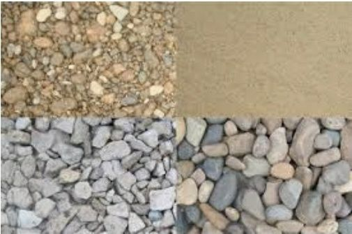 Щебень песок баласт глина