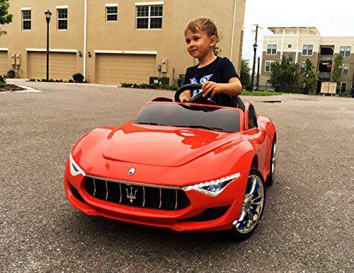 Masinuta electrica pentru copii Maserati Alfieri 12V cu LED #Rosu