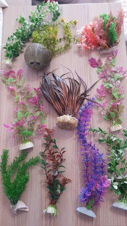 Plante artificiale pentru acvariu, pesti
