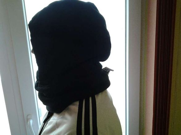 ски -маска-imitation и шапка-humer
